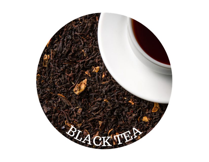 close up of black tea