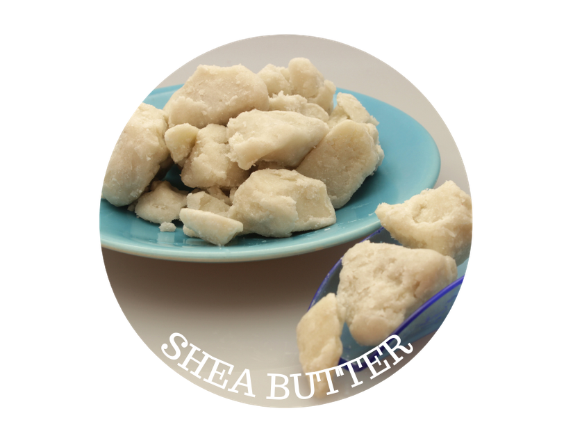 shea butter on a plate